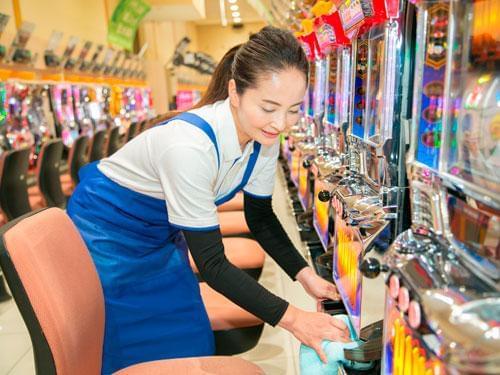 ヒュウマップクリーンサービス ダイナム福岡大刀洗店(121866)の求人画像