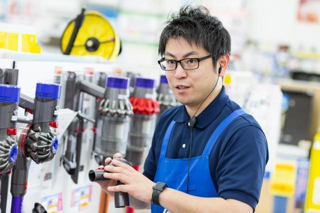 ケーズデンキの販売スタッフ(正社員) 東海地区限定採用