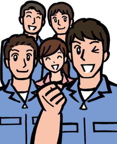 温かく声をかけてくれる先輩多数! チームワークの良い働きやすい人間関係です。
