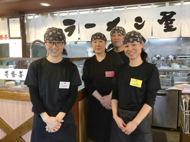 『美味しい』 『楽しい』 『働きやすい』!!! 三拍子揃ったお店です♪ バイトデビューも大歓迎!