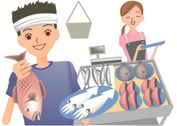 取れたての鮮魚を産地直送!鮮度と笑顔が光る、明るいお店で一緒にがんばりましょう♪