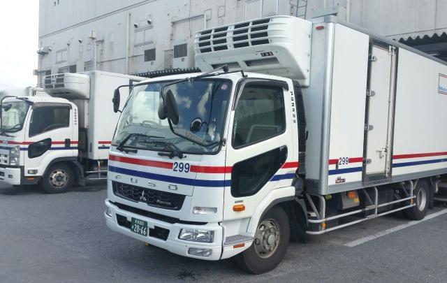 配送エリアは大阪・奈良県内♪ルート配送だから道も覚えやすいです!安全・安心を乗せて届けてください!