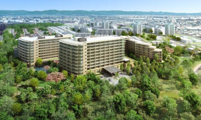 国営昭和記念公園に隣接する緑豊かな居住環境。豊かで快適な毎日をお約束する上質な施設がオープンいたします。
