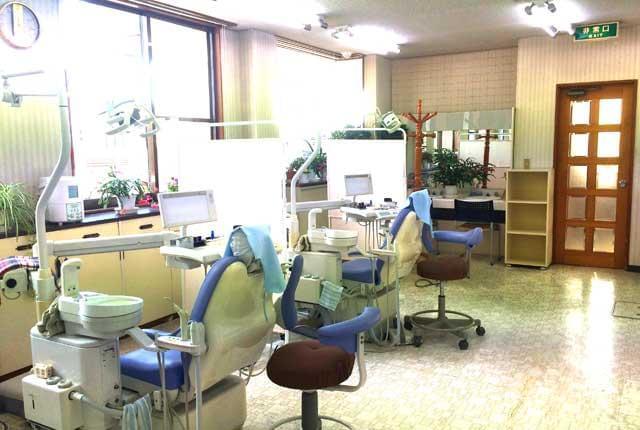 雀宮駅より車で6分程度。歯科衛生士パート募集