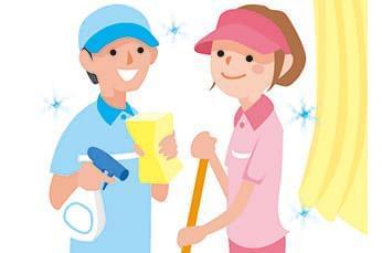 お掃除のお仕事するなら、季節・天候問わず快適に働ける建物内清掃で!車通勤OKだから、通勤も快適ですよ♪
