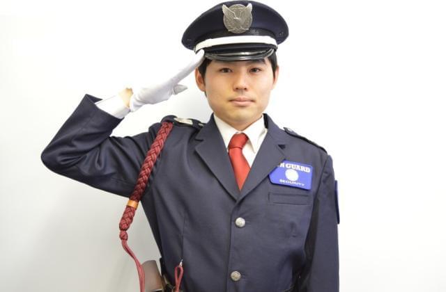 ≪警備≫ + ≪接客≫ = 施設警備員。
