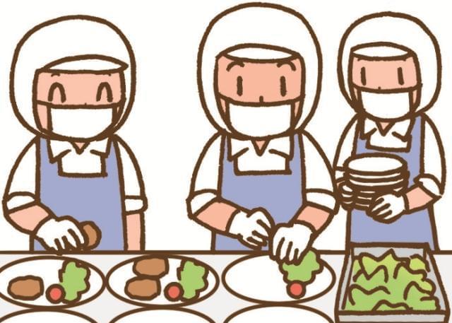 『茨木市立彩都西小学校内の給食室』名阪食品株式会社 大阪事業部(3524)