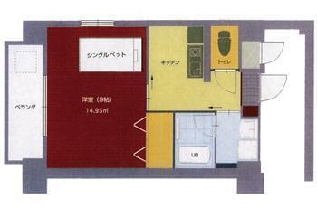 四国中央市には単身寮完備!