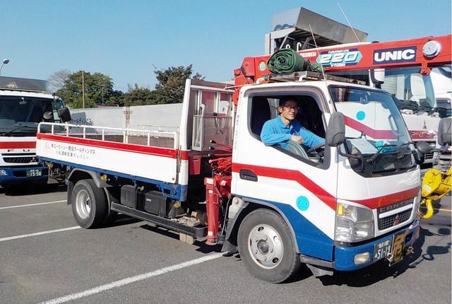 配送エリアは関西が中心。 長距離の運転はないので、身体への負担は最小限です。