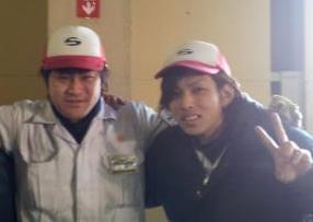 現在、男性スタッフが多数活躍中!作業中は『赤い帽子』が仲間の印です♪