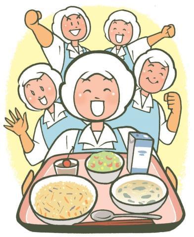 """頼れる仲間と協力し、""""満足の食事""""を届けましょう。"""