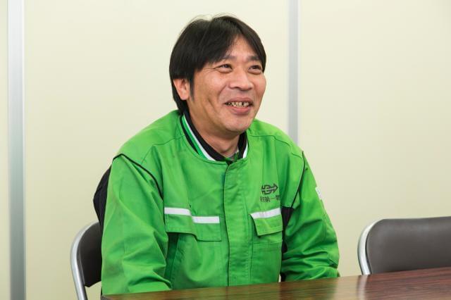 ◆働き心地は、現役メンバーに聞くのが一番!―入社半年:ドライバーKさん(41歳男性)
