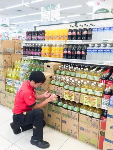あなたの工夫次第で売上UP☆コカ・コーラ社製品を扱うお仕事です♪