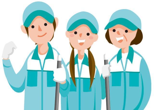 [2]はかけもち勤務の方が多数!閉店後の清掃なので人目を気にせず働けます。