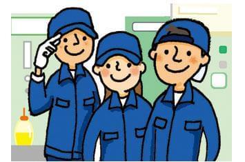 未経験でも大丈夫!無料昼食完備!制服も貸与! 安心して長く勤められるように当社もサポートします
