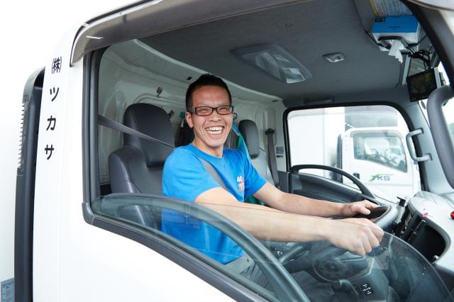 ◆現役スタッフ(ドライバー)からメッセージ◆社員想いの会社だから、働きやすさは抜群です!