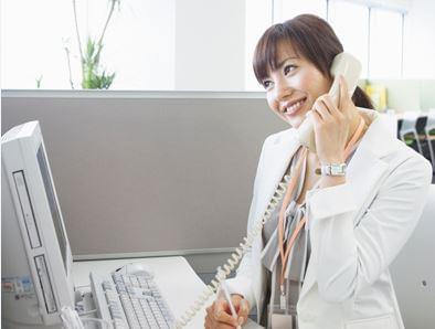 電話応対や簡単なPC操作がメインの事務業務です。 経験・ブランクを気にせず気軽にご応募ください♪