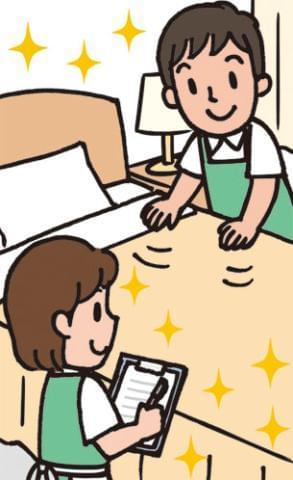 """スキマ時間を賢く使ってサクッとお仕事!あなたの活躍が、誰かの""""快適空間""""を支えています。"""