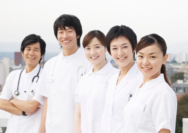 あなたの笑顔で患者さんに大きな安心を・・・。