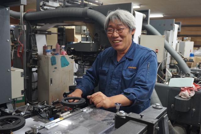 工場長の原田です。正社員として安定して働きたい-『ヤマガタ』は、そんな想いが叶う場所。やる気のある方なら未経験でも丁寧に教えていきますのでまずはお気軽にご応募お待ちしています。