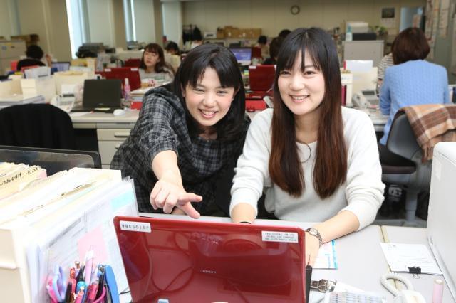 当社イチバンの自慢は働きやすさ!お互い支え合いながら、みなさんイキイキと働いています。