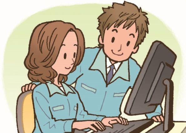 簡単な入力・資料作成のお仕事です!女性活躍中の職場です☆高収入♪未経験OK!