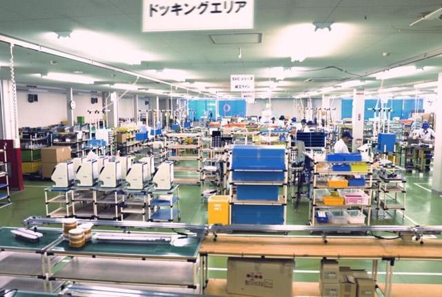 鈴茂器工株式会社 東京工場