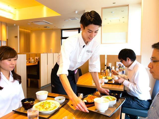 やよい軒のホール調理◆学生・フリーター・主婦(夫)が活躍中!!
