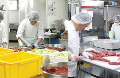 ■焼肉 SENARAグループ セントラルキッチン(工場) パート・アルバイト(製造・調理加工・精肉)