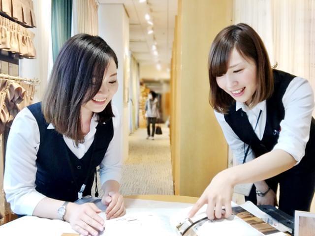 ジャストカーテン各店にてスタッフ複数名募集!専門知識は入社後に身に付けられます!