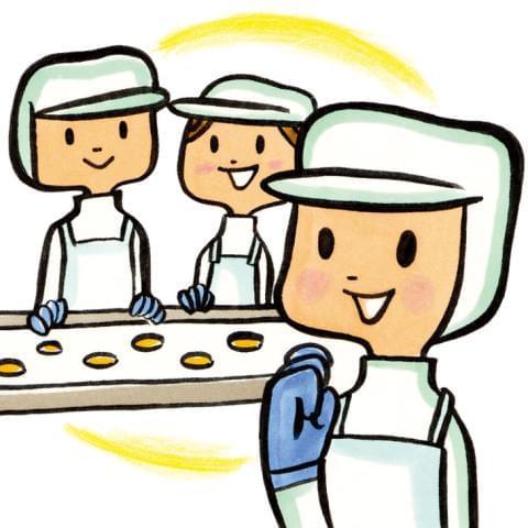 テキパキ作業が光りますが、扱うのは食品なので丁寧さも忘れないでくださいね!\堺方面にもお仕事多数有♪/