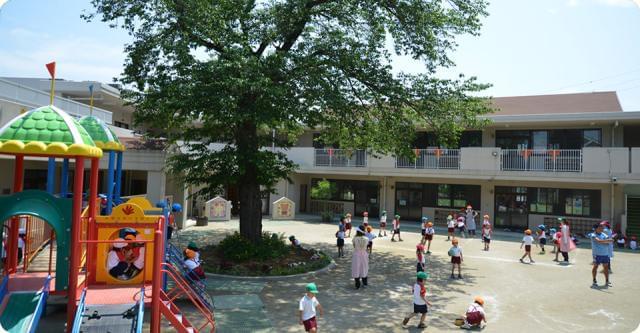 地域に密着した幼稚園です。