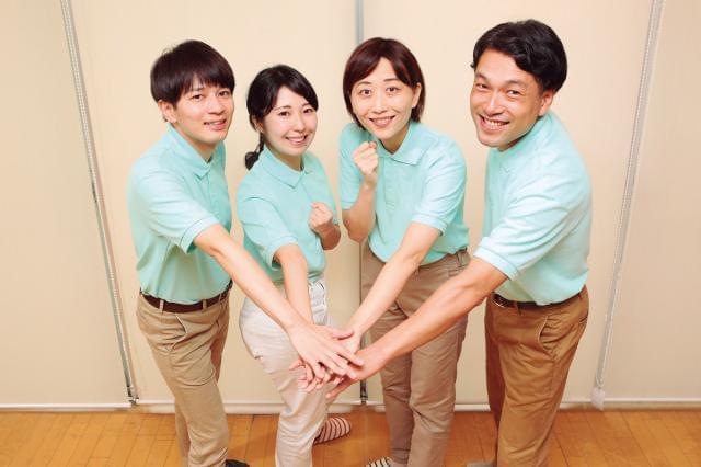 男女4名が活躍中!少人数だからこそチームワークもバッチリなので、あなたもぜひ仲間に入ってください。