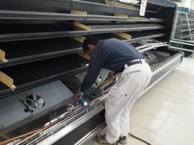 業務用冷凍庫・冷蔵庫の施工・メンテナンスを手がける会社。 仕事量は常に豊富で、安定性もバツグン!