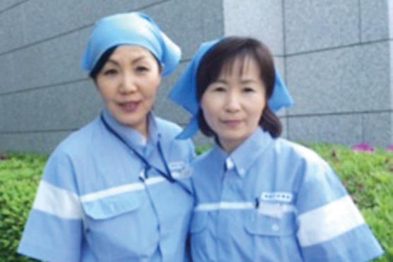 商船三井・ダイビルグループの当社。40代・50代の女性スタッフが活躍中!丁寧に仕事を教えていきます!