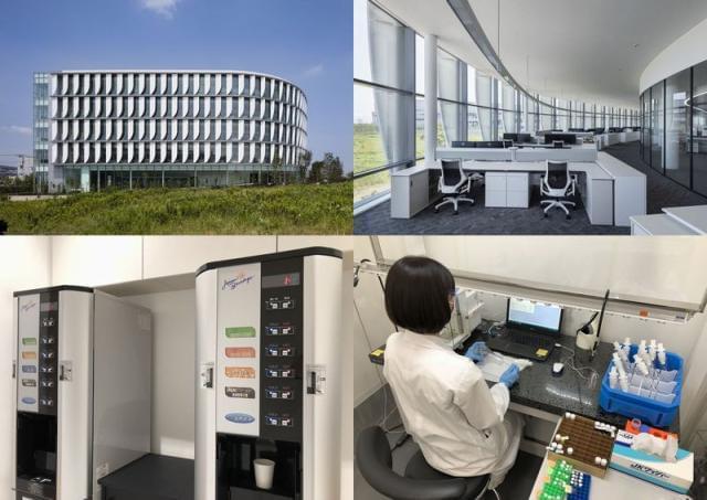 2017年7月に竣工したばかりの、キレイな研究所です!!