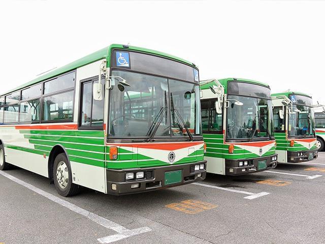 近江鉄道バスは「安全・安心」を第一に滋賀県内の交通の足として日々ご利用いただいております。