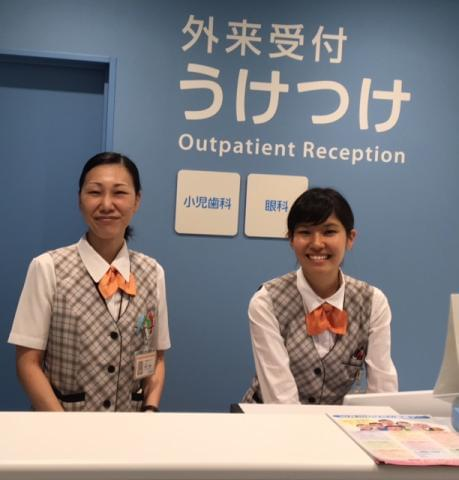 患者様を明るい笑顔で診察室に案内したり、医師や看護師からの連絡事項をお伝えしたり、「ありがとう」の言葉がやりがいです!