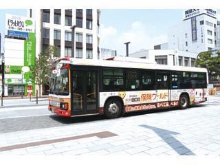 ラッピングバスなどでつくった高い知名度を利用して、様々な営業で活躍してください。
