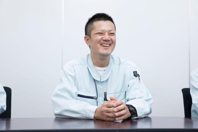 「最初は会社の存在さえ知りませんでした(笑)」(原薬製造・製造第一グループ・ユニットリーダー・齊藤・30代)