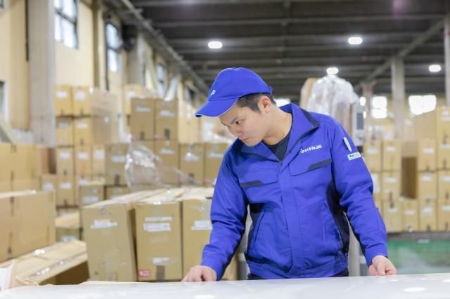 製造から物流まで幅広く経験できる職場です