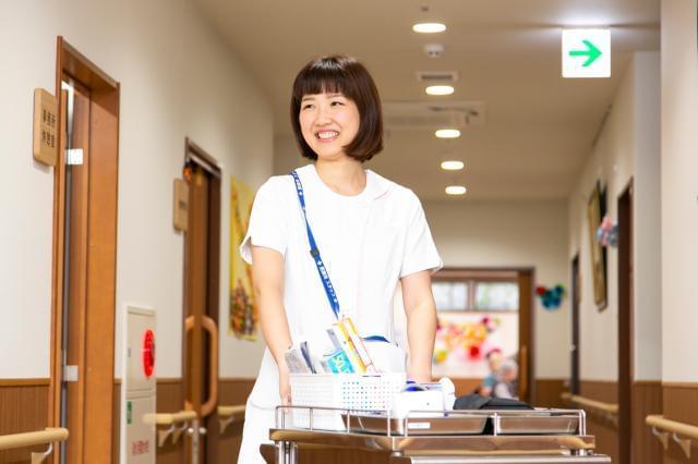 夜勤ナシの看護師のお仕事♪ 昇給、賞与、社会保険完備など待遇面は、 バッチリです◎有休もしっかり取れます。