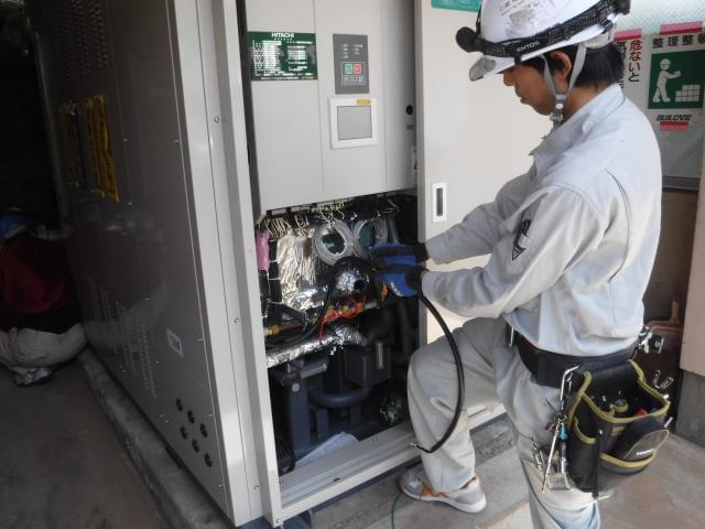 """当社は空調・発電設備の電気工事から計装工事の施工など""""電気""""に関わる工事を幅広く請負っています!"""