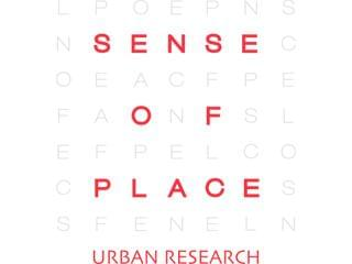 SENSE OF PLACE by URBAN RESEARCH 1枚目