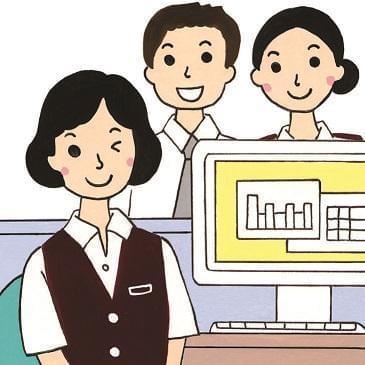 女性の多い和やかな職場です!先輩スタッフがしっかり研修してくれるので安心!PC入力できれば経験不問!