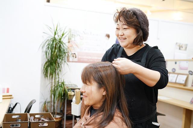 美容師免許があればOK! オープニングスタッフなのでみんな同じスタートで安心!