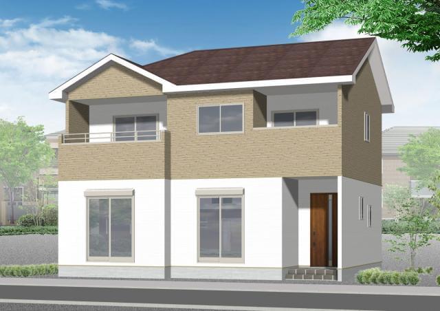 KEIAIブランドのデザイン性の高い分譲住宅を販売するお仕事です。(「KEIAI」が販売する建物の一例です。)