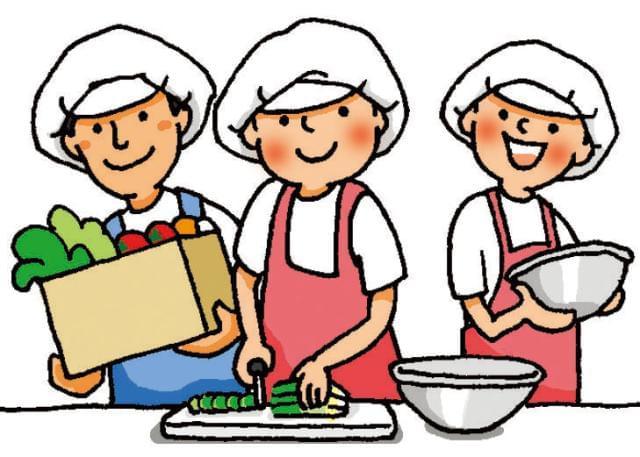 子どもたちがご飯を食べて笑顔になる姿を想像しながら、 一つひとつ丁寧にこなしていってくださいね♪