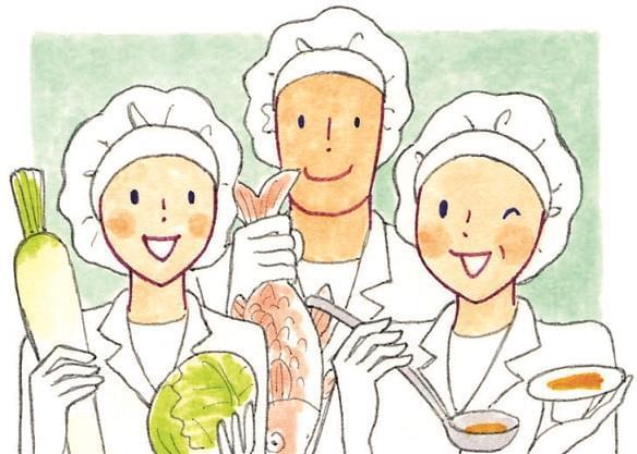 安全で安心な美味しい給食は、子どもたちの元気の素。まごころを込めて、お届けしましょう。