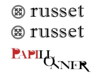 russet by Pal collection/russet papillonner by Pal collection